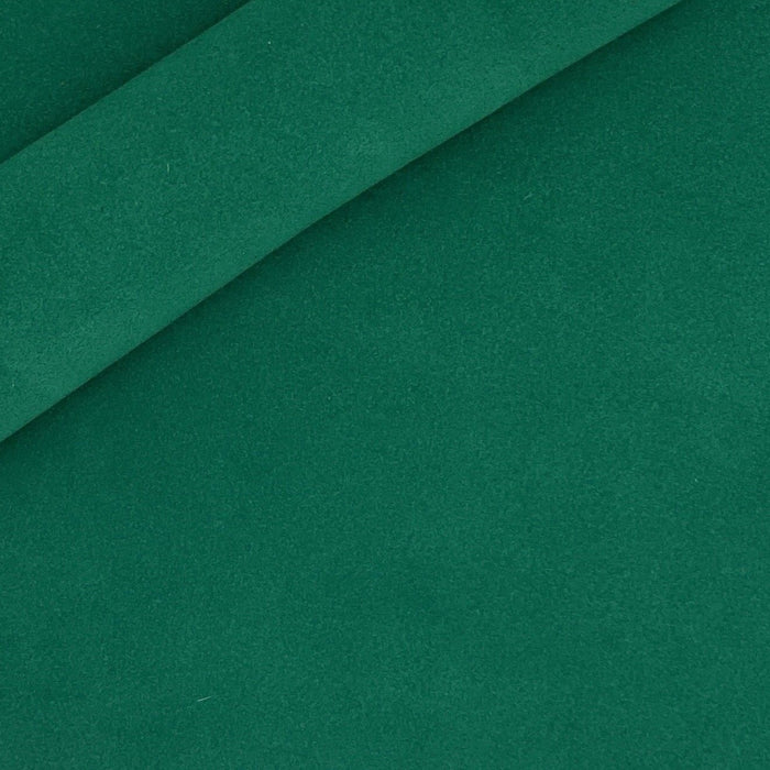 Emerald Italian Suede Leather Panels