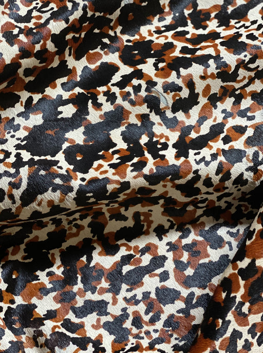 Tortoise Shell Leopard Hair-On Cowhide Sides