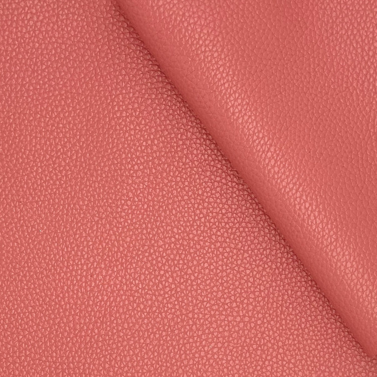 Flamingo Pink Cowhide Leather Sheet