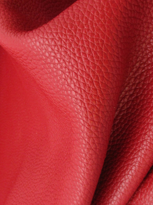 Red Cowhide Leather Sheet