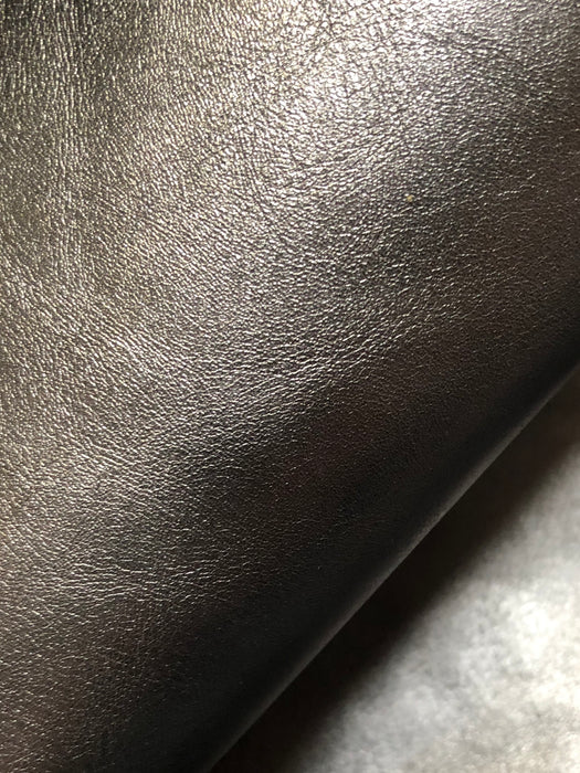 Metallic Leather Sheet  - Pewter