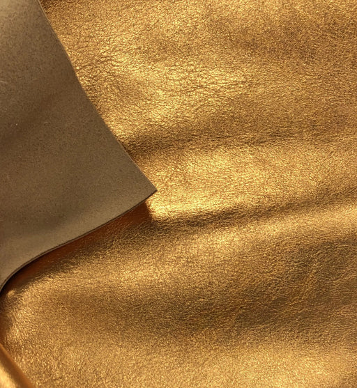 Metallic Leather Sheet - Copper