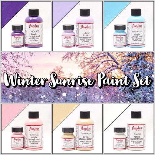 Winter Sunrise - Angelus 6pc Paint Set