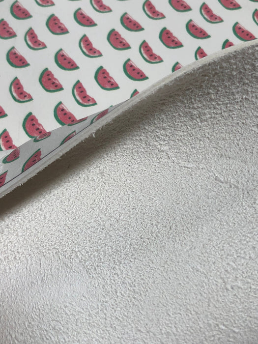 Watermelon - Printed Leather
