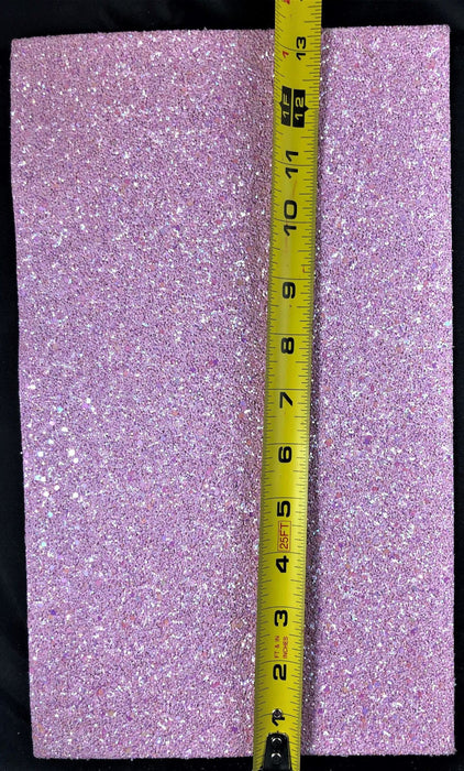 Glitter Faux Leather Sheet / Chunky Glitter Sheets