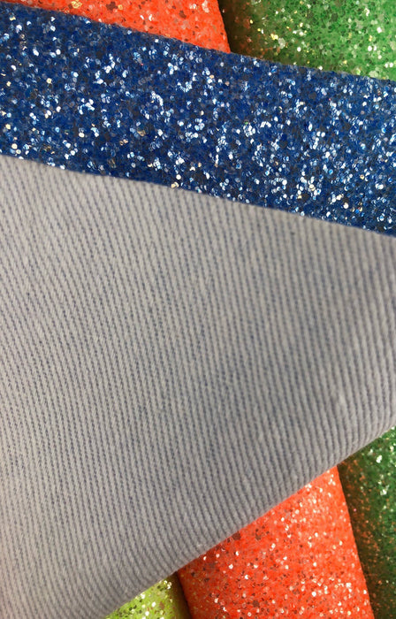 Bright Glitter Faux Leather Sheet