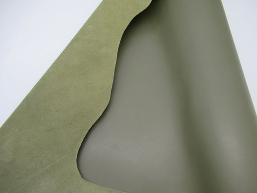 Full grain Handbag Sides-Olive