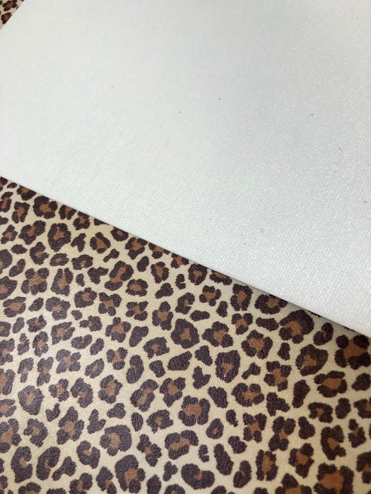 Cheetah - Printed Upholstery Vinyl Faux Leather