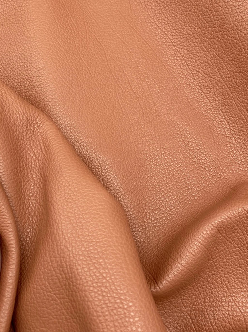 Full Grain Cowhide Side - Deep Apricot