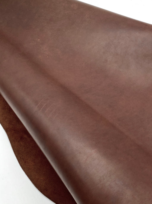 Oil Tan - Smooth Rustic Brown 5/6oz Sides (2.0mm-2.4mm)