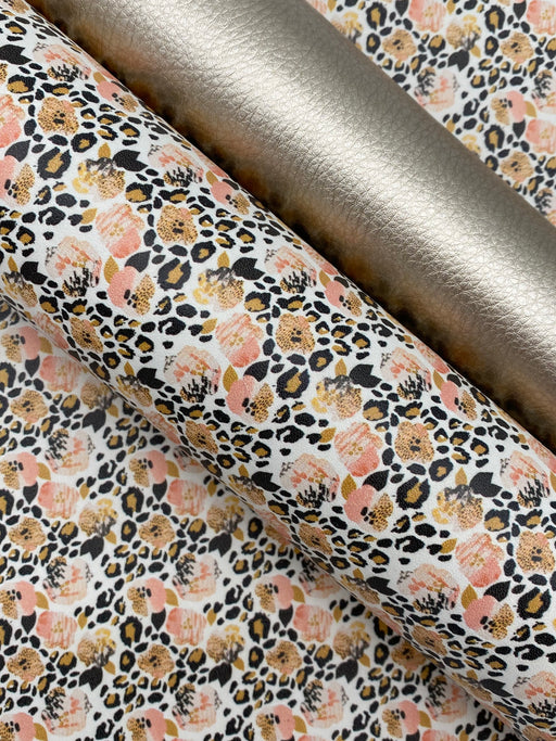 Wild Blossom Printed Leather