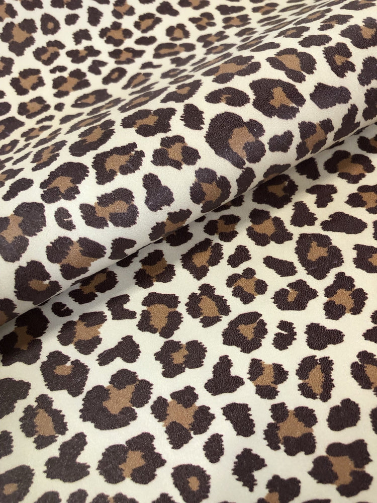 Cheetah Printed Leather