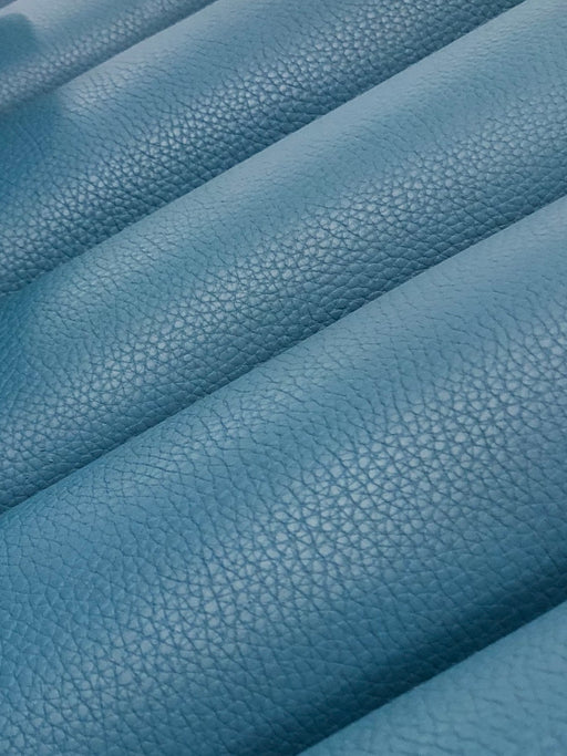 Cerulean Blue - Pebble Grain 4/5oz Cowhide Sides