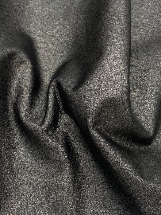 Soft Metallic Lambskin Leather Hides