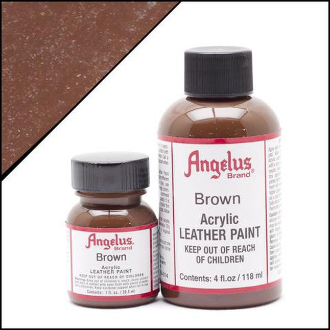 Angelus Brown Leather Paint