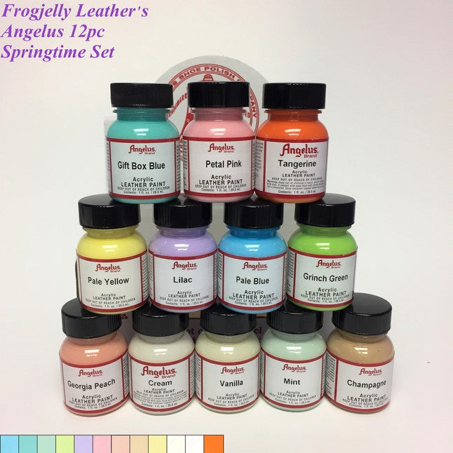 Springtime - Angelus 12pc Paint Set