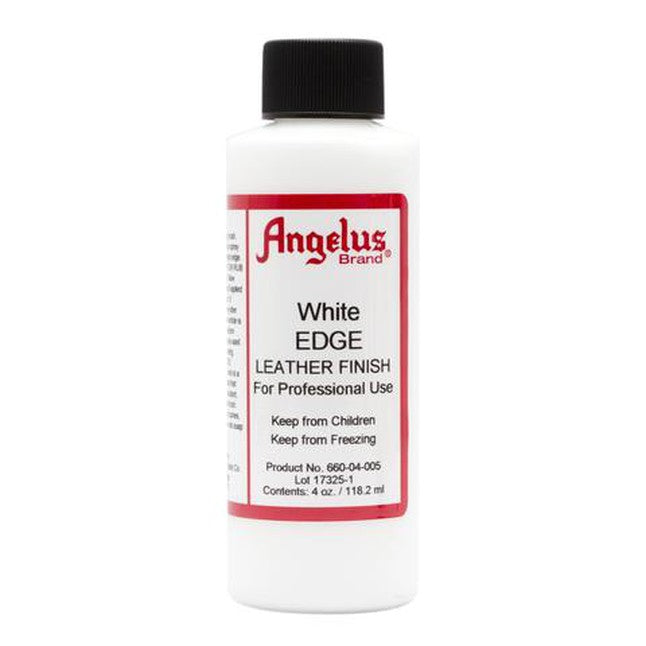Angelus Edge Leather Finish White