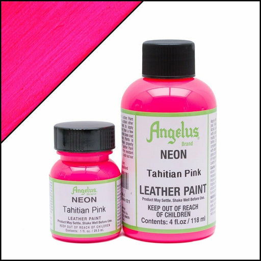 Angelus Tahitian Pink Neon Acrylic Leather Paint