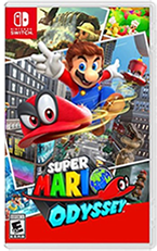 Super Mario Odyssey - Complete in Box - Used