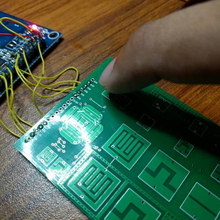 Testing a Capacitive Button Panel