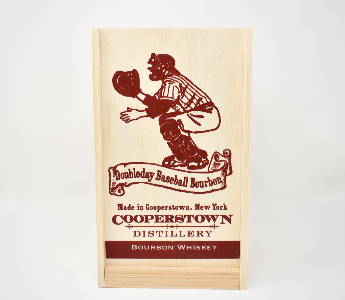 Doubleday Bourbon Whiskey Pine Case