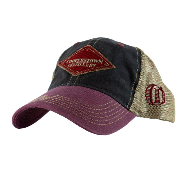 Trucker Style Hat - Red