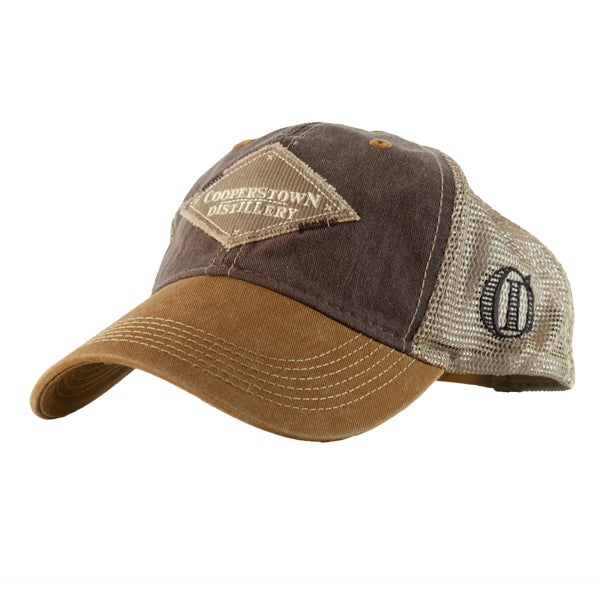 Trucker Style Hat - Brown