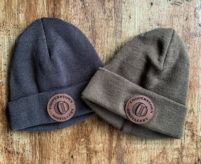 Cooperstown Distillery Beanie in Grey