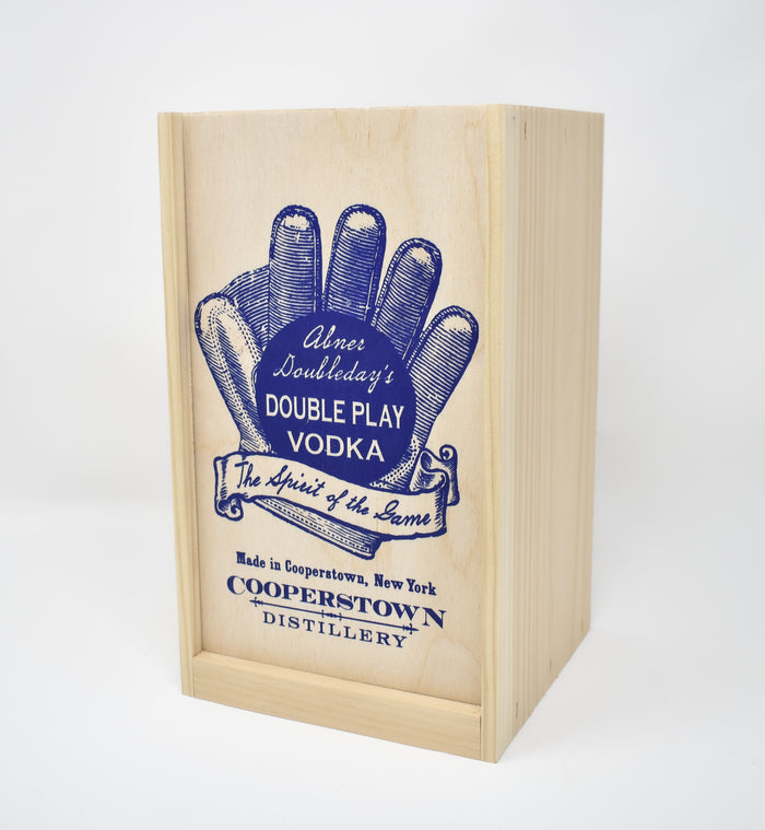 Doubleday Vodka Pine Case