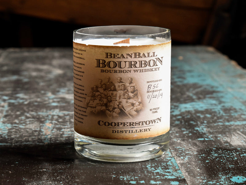 Beanball Bourbon Soy Candle
