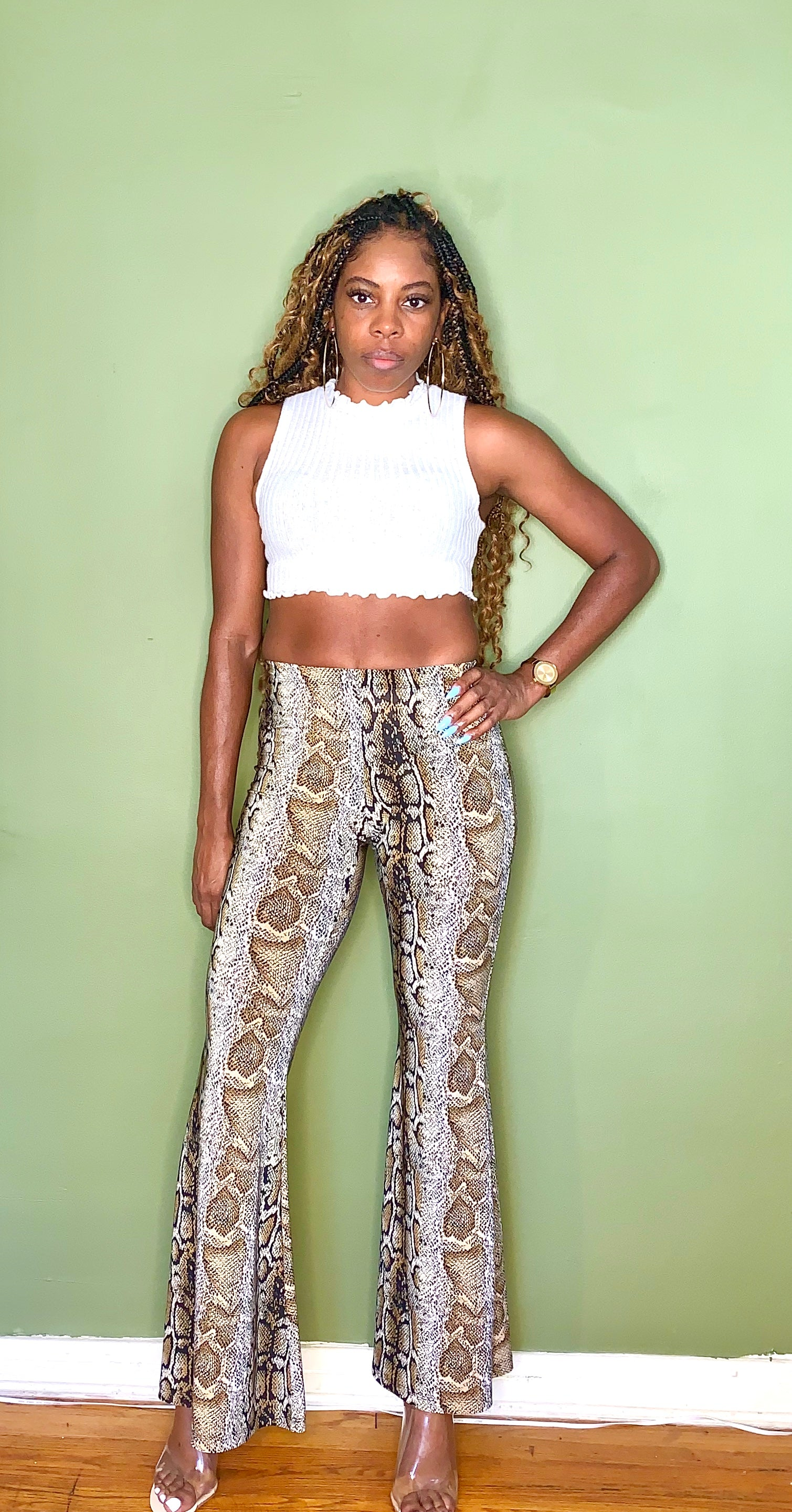 Snake Skin Pants - Gordon Sophia Collections
