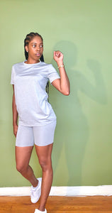 Basic (Gray) Short Set - Gordon Sophia Collections