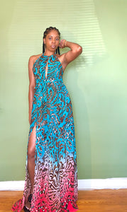 Jungle Vibez Maxi Dress - Gordon Sophia Collections