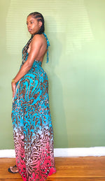Load image into Gallery viewer, Jungle Vibez Maxi Dress - Gordon Sophia Collections