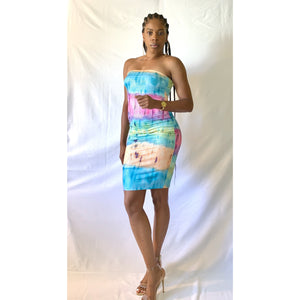 Mermaid Tube Dress - Gordon Sophia Collections