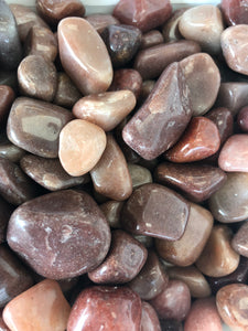 Red Quartz Tumbled Stones
