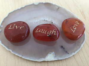 Live Laugh Love Crystals
