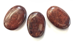 Hessonite Garnet Palmstone