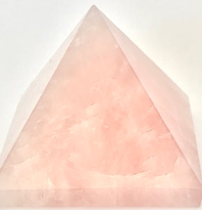 Rose Quartz Pyramid ~ 70mm
