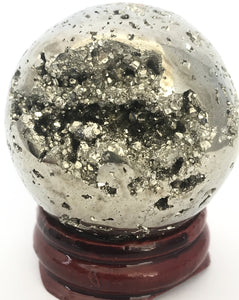 Pyrite Sphere ~50mm