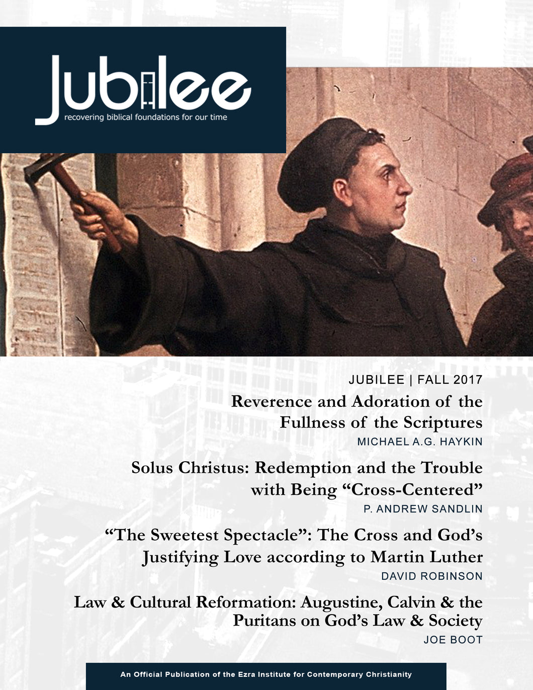 500 Years of Reformation - Fall 2017 - Digital Download / Online Reader