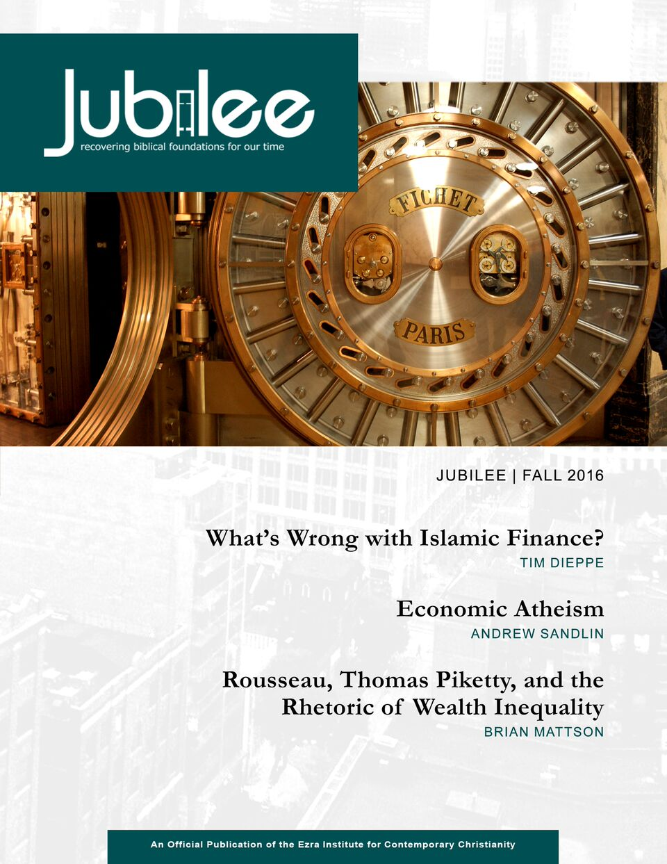 Money and Economics - Fall 2016 - Digital Download / Online Reader