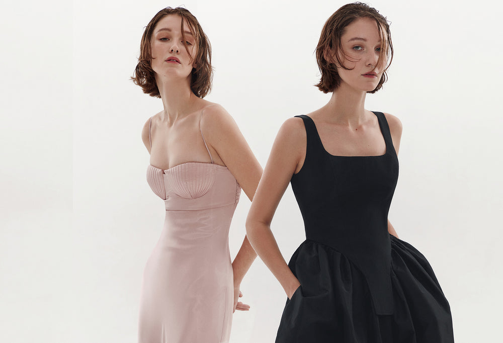 Bevza sculptural dresses
