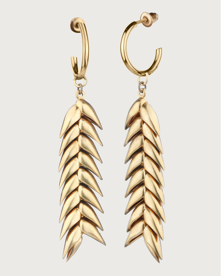 Spikelet Medium Earrings