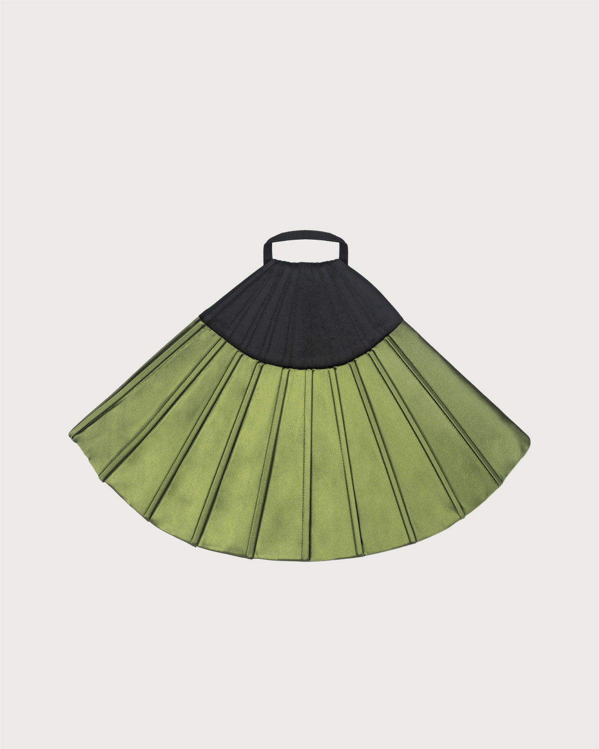 Grand Fan Clutch Light Green