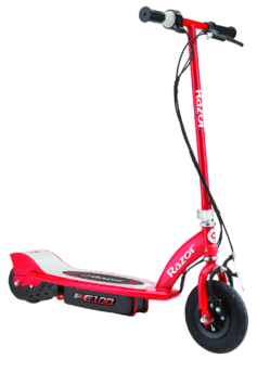 Razor E100 electric scooter, electric scooter for kids