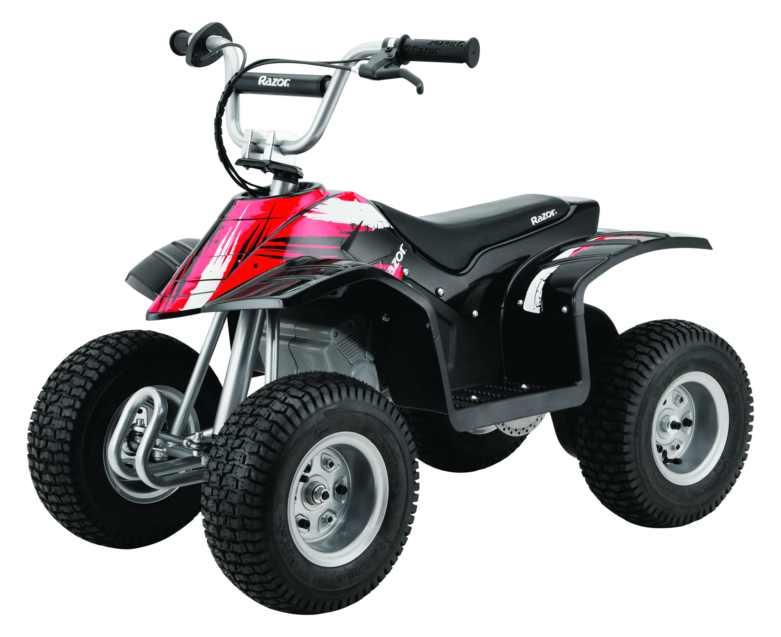Electric Scooter, Four Wheeler, Razor Dirt Quad