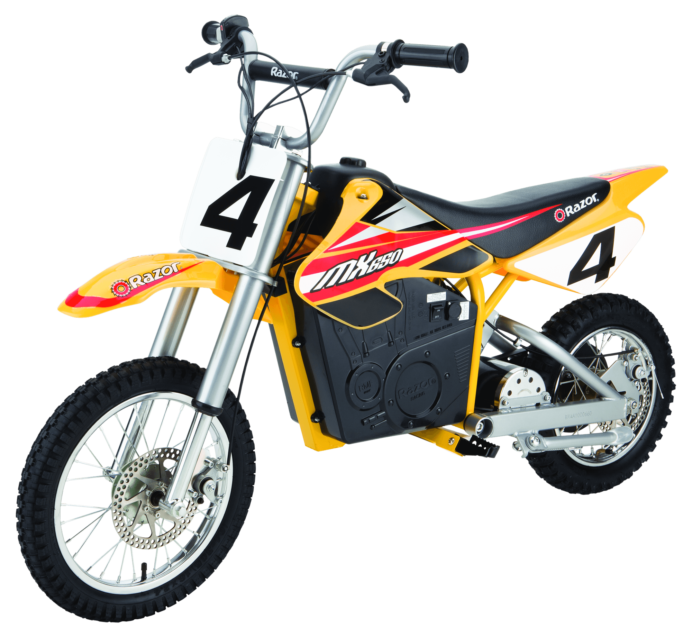 Razor MX650, Razor Dirt Rocket MX650, Razor e-bikes, Dirt Bikes