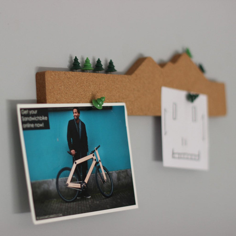 MEMO MOUNTAIN | Cork note holder