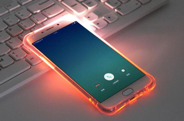 Luxury Soft  LED Flash Light Up Case  For Samsung Galaxy